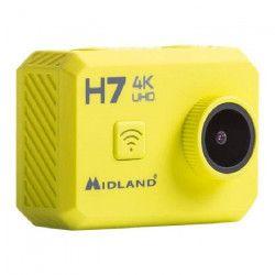 MIDLAND H7 Action Cam 4K avec Télécommande et Caisson Étanche