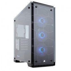 Corsair Boîtier PC Crystal 570X RGB - Noir - Moyen Tour - Fenetre en verre trempé