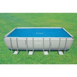 INTEX Bâche a bulles piscine tubulaire 7,32x3,66 m