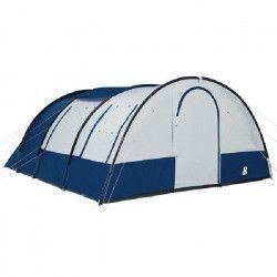 TRIGANO Tente de camping Bora 4 places - Blanc et bleu