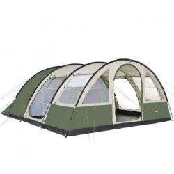 TRIGANO Tente de camping Tonga 6 places - Beige et vert