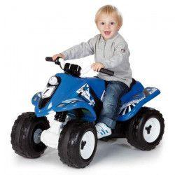 SMOBY Quad Electrique Enfant Rallye Bleu