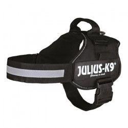 Harnais Power Julius-K9 - 2 - L-XL : 71-96 cm-50 mm - Noir - Pour chien