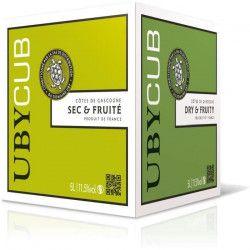 BIB 5L UBY CUB Côtes de Gascogne vin blanc sec