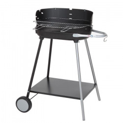 SOMAGIC Barbecue a charbon Mexico - Acier chromé - 50,5x33cm