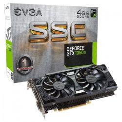 EVGA Carte Graphique GeForce GTX 1050 Ti SSC GAMING