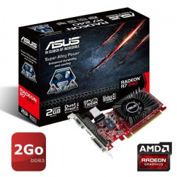 ASUS Carte Graphique NVIDIA GeForce R7240 - 2Go - DDR3
