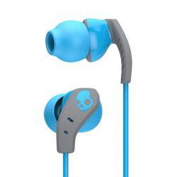 SKULLCANDY Écouteurs Intra-auriculaires Method - Avec micro - Bleu et Gris