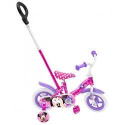 MINNIE Vélo 10` Avec Pignon Fixe Et Canne - Disney - Disney