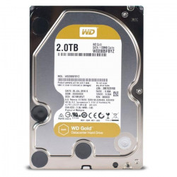 WD Disque dur interne Gold - 2To - 128Mo - 3.5` WD2005FBYZ