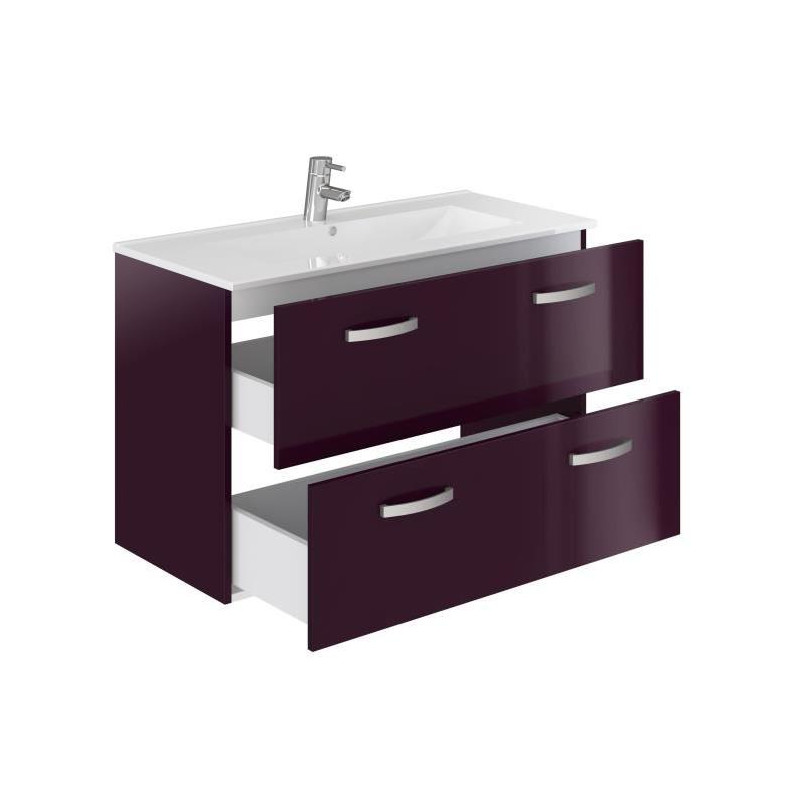 Stella ensemble salle de bain simple vasque avec miroir - Ensemble robinetterie salle de bain ...