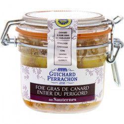 GUICHARD PERRACHON Foie gras du Périgord au Sauternes - 180 g