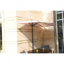 Parasol de balcon 270 cm - Pied non inclus - Beige