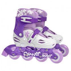 STAMP Roller en ligne Enfant Fille Violet Ajustables 30 a 33