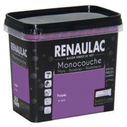 Peinture murale monocouche spéciale pieces humides 0,75 L purple satin Murs / Boiseries / Radiateurs - RENAULAC