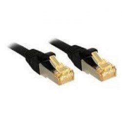LINDY Câble réseau CAT 7 Lsoh - Cuivre - 6000MHz - 10m - Noir