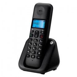 Motorola T301 Solo Sans Fil Sans Répondeur Noir