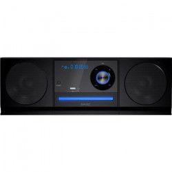 R-MUSIC X200 Chaîne HiFi Bluetooth - 10W - USB - FM - Noir