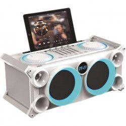 IBIZA SOUND SPLBOX200-WH Systeme audio stéréo mobile - 200W