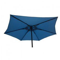 FINLANDEK Parasol droit en acier 2m - Bleu - AURINKO