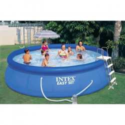 INTEX Kit piscine autoportée Easy Set - Ø457 x 106 cm