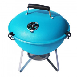 Barbecue boule charbon - Nomade -Turquoise