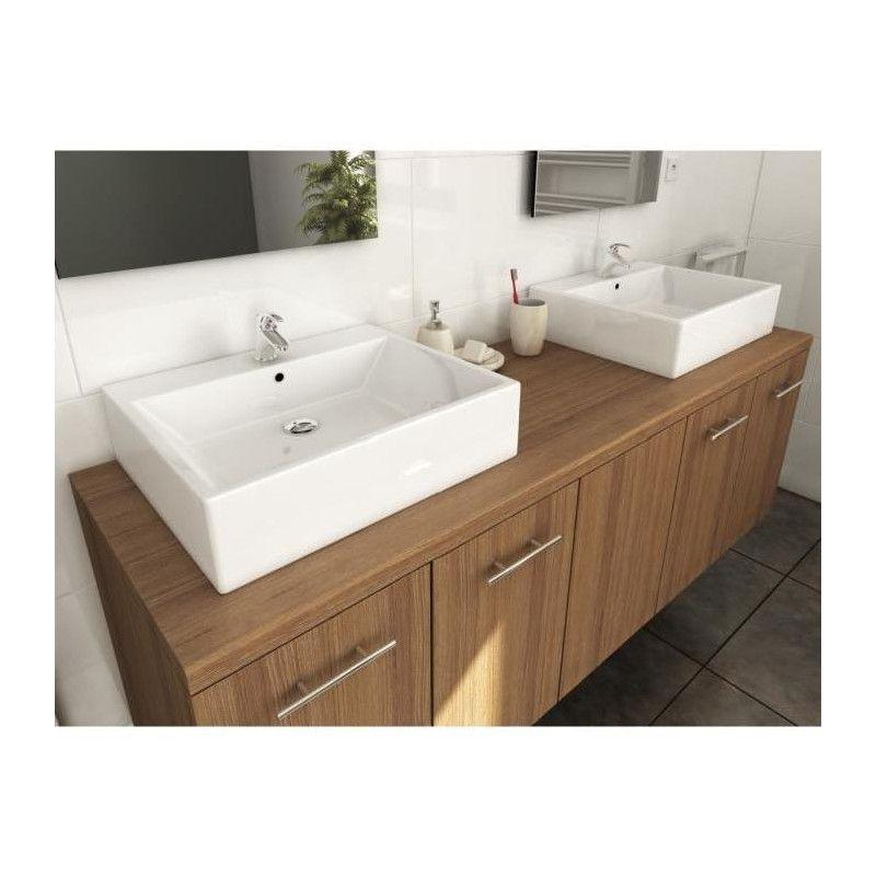 Jenny Salle De Bain Complete Double Vasque L 150 Cm