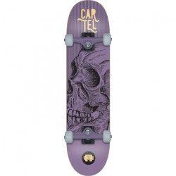 CARTEL Skateboard 7,8` - Mixte - Violet métallisé