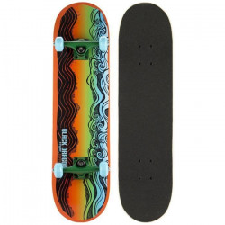 BLACK DRAGON Skateboard - Orange