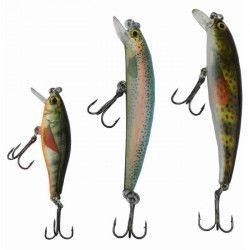 ZACK Kit de 3 poissons nageurs