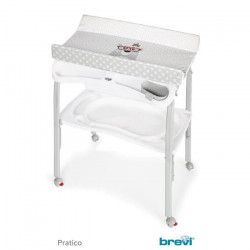 BREVI BREVI Table a langer pliante Pratico Red Magic