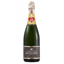 Champagne Jacquart Brut Mosaique 75 cl + 1 flûte