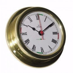ALTITUDE Horloge marine avec zone de silence - Laiton - ø 127 mm