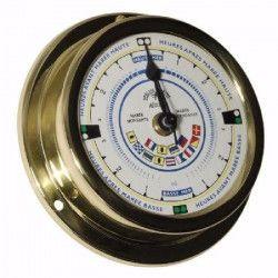 ALTITUDE Indicateur de marée avec indicateurs de signalisation - Laiton - ø 127 mm