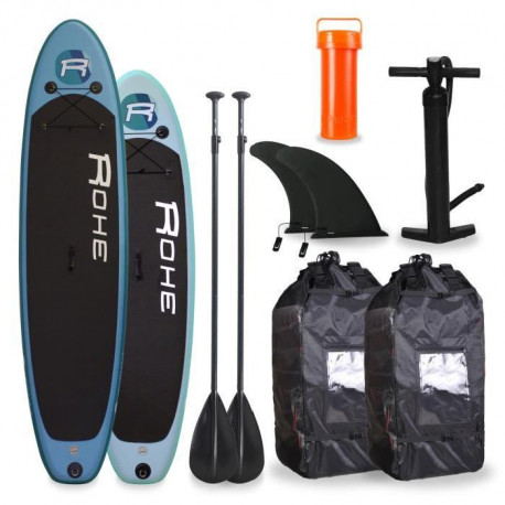 ROHE Pack Famille Paddle 10`6 + Paddle 9`0 - Avec accessoires