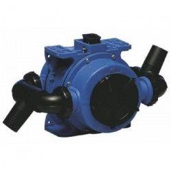 PLASTIMO Pompe de cale a membrane - Double effet - 1.5 litres - Embout a vis