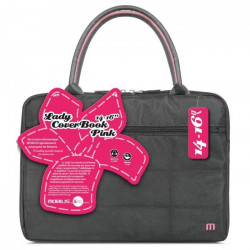 Mobilis Sac a Mains - Lady CoverBook - 14-16`` - Rose