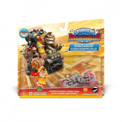 Figurines Turbo Charge Donkey Kong + Barrel Blaster Skylanders Superchargers