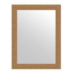 MIRRA Miroir rectangulaire 62,5x82,6 cm Chene