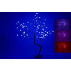 Sapin de Noël artificiel lumineux Fleur 80 cm