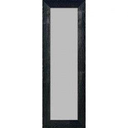 BOLOGNE Miroir MDF 55x157 cm Noir laqué