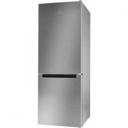INDESIT LR6 S1 S - Réfrigérateur congélateur bas - 271L (196+75) - Froid statique - A+ - L 60cm x H 156cm -