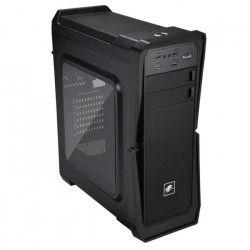 LEPA Boîtier PC LPC502 - Moyen Tour - USB 3.0 - Fenetre - Noir