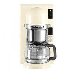 KITCHENAID 5KCM0802EAC Cafetiere filtre programmable - Creme