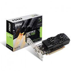 MSI Carte graphique GeForce GTX 1050 2GT LP - 2Go - GDDR5