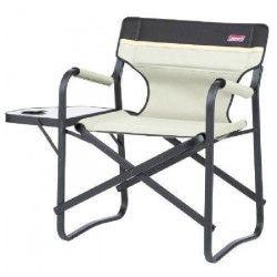 COLEMAN Chaise Deck avec Table Khaki
