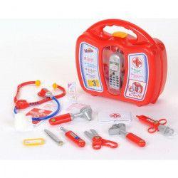 KLEIN - Mallette docteur avec téléphone portable pour Enfant