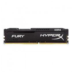 HYPERX Mémoire PC FURY Black- 16Go - DDR4 - 2666MHz - CL16 - DIMM