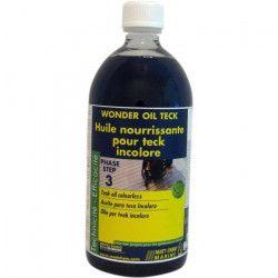 MATT CHEM Huile pour Teck Incolore Wonder Oil Teck 1L
