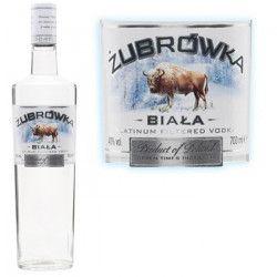 Zubrowka biala Vodka 70cl